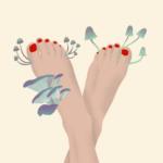 Fußbilz behandeln